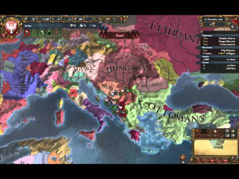 EU4 into Vicky 2 Multiplayer Megacampaign, day 1  