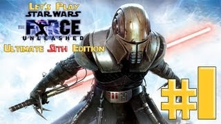 Let's Play Star Wars: The Force Unleashed Ultimate Sith Edition Ep. 1