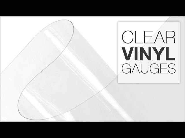 Comparing Clear Vinyl Weights Youtube