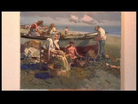 El pintor Eustaquio Segrelles - YouTube