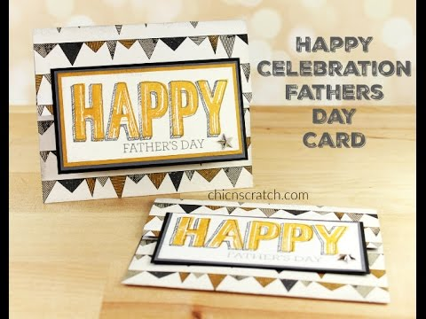 Fathers Day Card - Featuring Happy Celebrations with Crazy for You