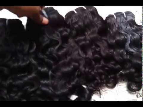 Brazilian Indian Human Hair Extensions Wholesale Supplier Chennai Factory
