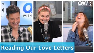 Seacrest & the Squad Read Love Letters to Their Partners On Air