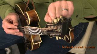 Mandolin Tuning with Mike Marshall