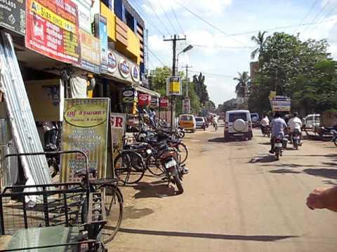 Walking the streets in Tambaram, Chennai, India