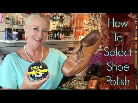 How To Select Shoe Polish Youtube