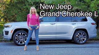 2022 Jeep Grand Cherokee L review // In a class of its own...