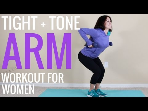 Minute Dumbbell Arm Workout for Women & Men at Home with Weights – Muscle Building Arms Exercises