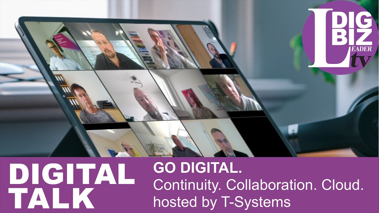 DIGITAL TALK virtual: GO DIGITAL. Continuity. Collaboration. Cloud.