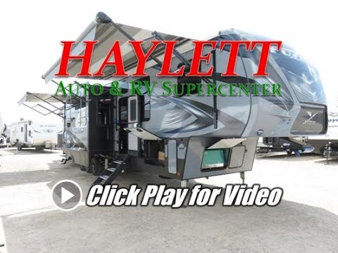 HaylettRV - 2018 Fuzion 417 Luxury Fifth Wheel Toy Hauler by
