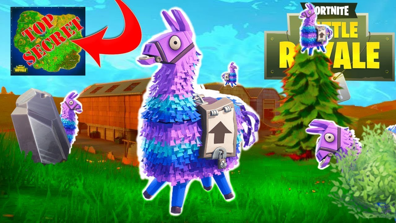 X Lamas Found New Secret Spawn Location Area Fortnite Br Solos Game Play