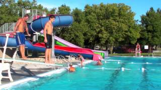Amazing Diving Board Tricks 2