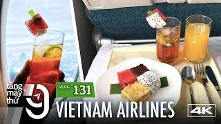 [M9] #131: Bữa trà chiều trên hạng phổ thông đặc biệt Vietnam Airlines | Yêu Máy Bay