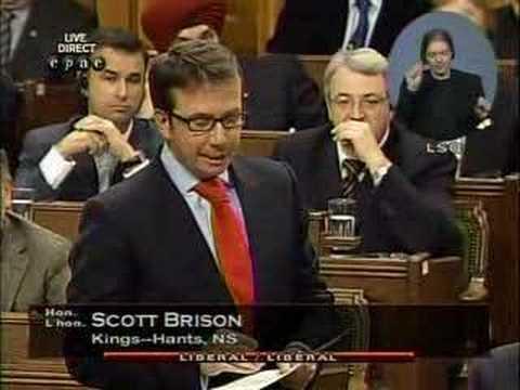 Smackdown: Spanking Scott Brison