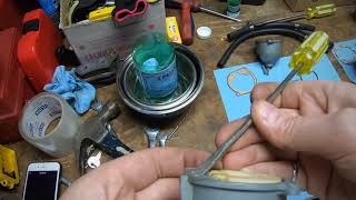 Amal 900 Series Carburetor disassembly