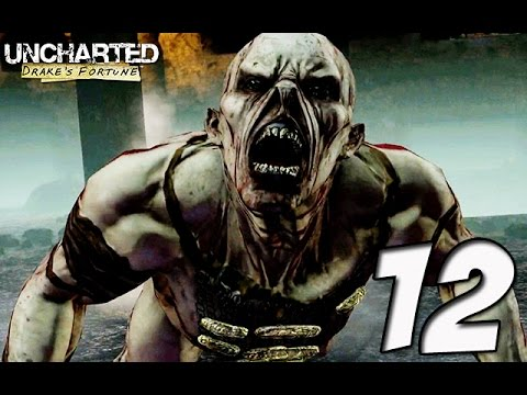 Uncharted Drake's Fortune Walkthrough Gameplay Part 12 - OMG ZOMBIES!! NO WAY (PS4)