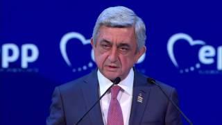 Սերժ Սարգսյանը մասնակցել է ԵԺԿ համագումարին