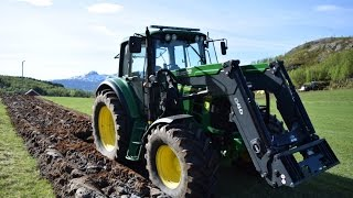 |GoPro| Plowing in Norway with John Deere 6430P