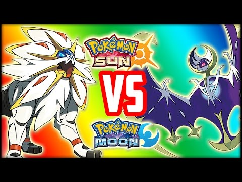 POKEMON SUN VS. POKEMON MOON - WHICH ONE SHOULD YOU GET?