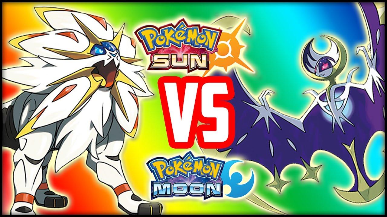 pokemon sun vs. pokemon moon - which one should you get? - youtube