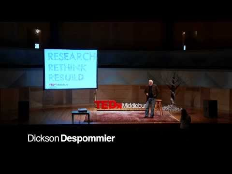 The vertical farm: Dickson Despommier at TEDxMiddlebury
