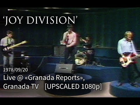 Joy Division - Shadowplay (live @ Granada TV) Remastered (1080p/60fps)