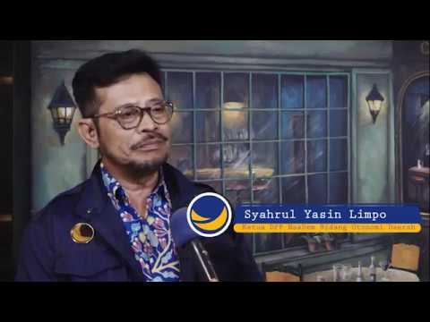 Tugas Pertama Syahrul Yasin Limpo di NasDem