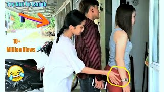 Must Watch Funny Comedy Videos Try Not To Laugh - Funny Prank Episode 5 | V-Series