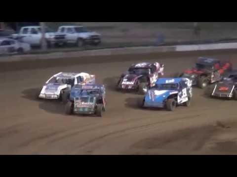 IMCA Sport Mod feature Independence Motor Speedway 8/20/16