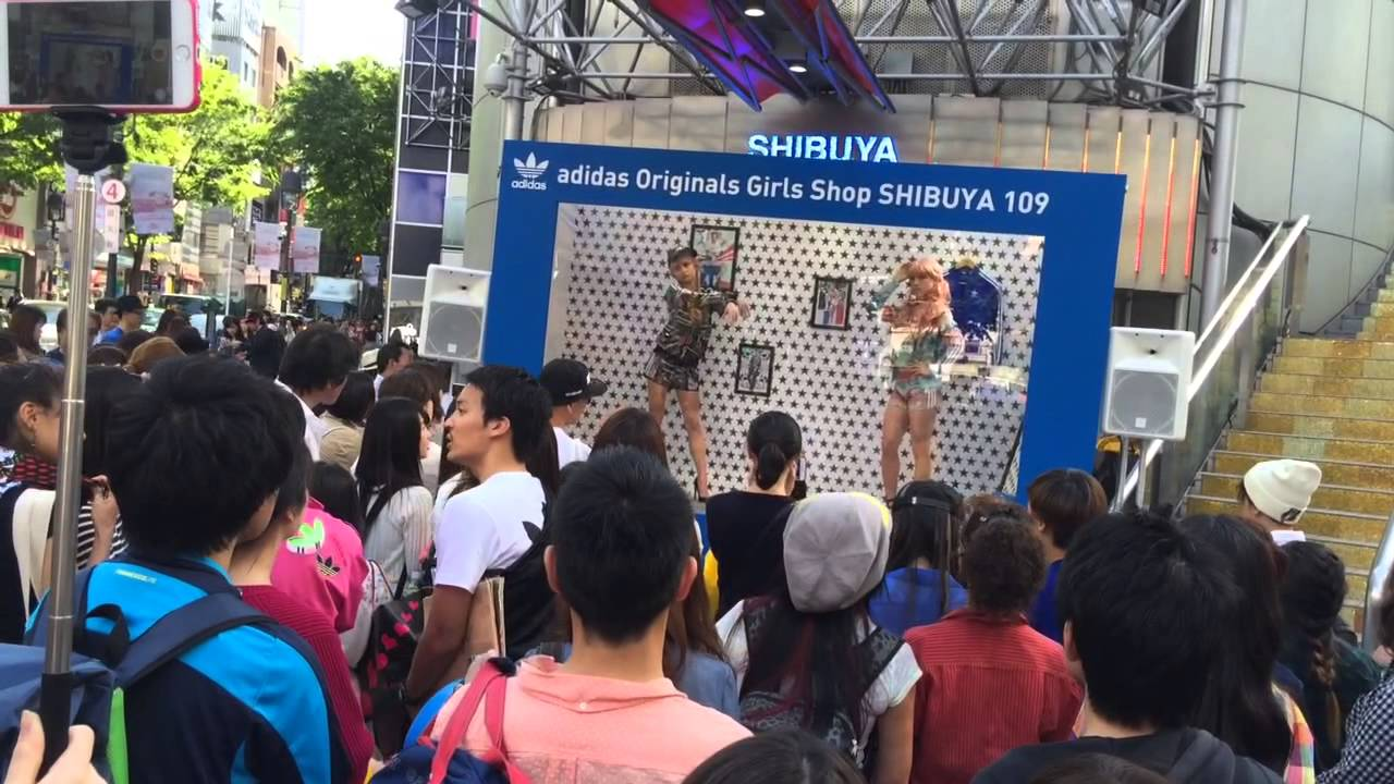 shibuya adidas ragazze tokyo su youtube