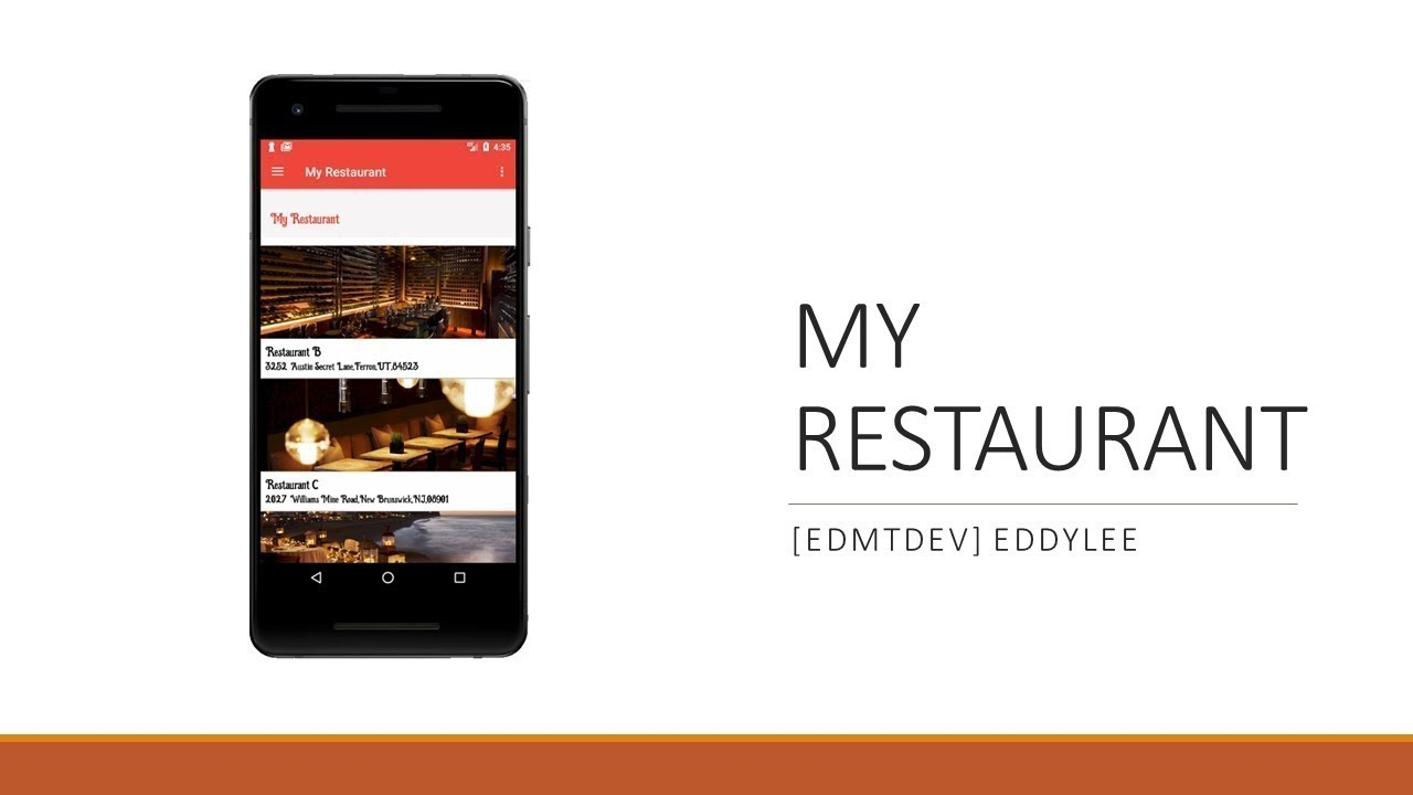 Android Development Tutorial - My Restaurant Part 23 Firebase Messaging  Sync Token with Client App