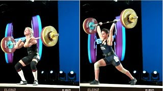 WOMEN 58kg B CLEAN & JERK / 2017 WEIGHTLIFTING WORLD CHAMPIONSHIPS