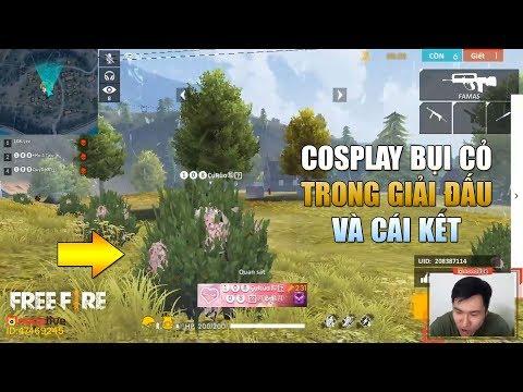 Free Fire | Cosplay Bụi Cây ăn TOP 1 suýt thành công - Ai sẽ là Ông Vua Custom? | Rikaki Gaming