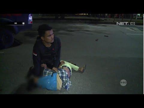Tim Polres Bubarkan Tawuran, Sekumpulan Pemuda Mencoba Menyerang - 86