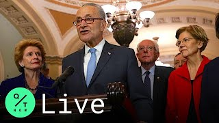 LIVE: Schumer, Warren Hold News Conference With Virus Stimulus Up in the Air