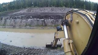 Копаем большой пруд. How to dig a large pond.