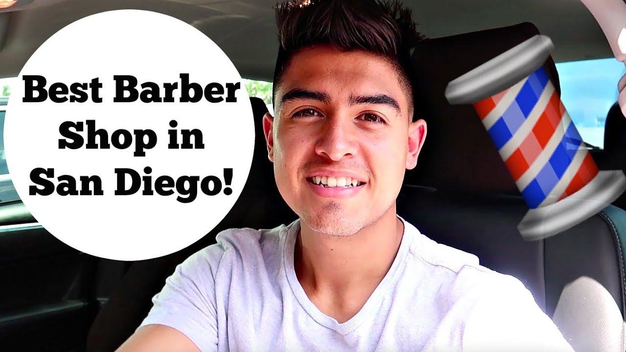 Fresh Haircut Best Barber Shop In San Diego Minivlog Youtube