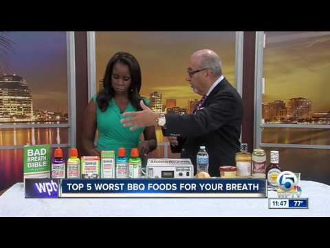 Top 5 worst foods for your breath