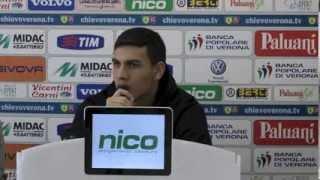 Rueda de prensa de Leandro Paredes en ChievoVerona - Esp.