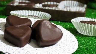 CHOCOLATES RELLENOS | BOMBONES RELLENOS | DÍA DEL AMOR Y LA AMISTAD | EL COCINA