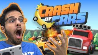 عالماشي: حرب سيارات الموز والمطافي! 🍌🚒- Crash of Cars