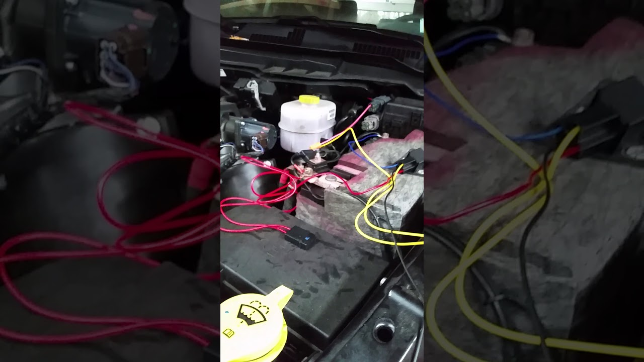 How to install driving lights to a Ram 2500 using the factory ...