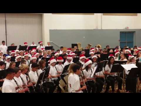 Twin Peaks Middle School December 2016 Band Concert