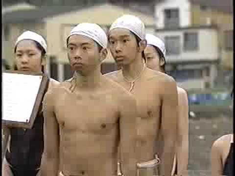 Fundoshi swimming