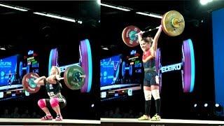 WOMEN 53kg B CLEAN & JERK / 2017 WEIGHTLIFTING WORLD CHAMPIONSHIPS