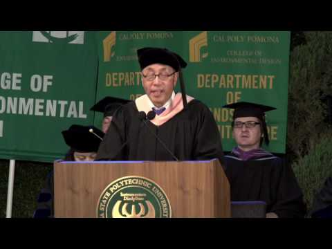College of Environmental Design Commencement 2016