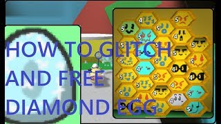 HOW TO GLITCH INTO THE 30 BEE AREA!! AND FREE DIAMOND EGG LOCATION!! | Roblox *NO LONGER WORKING*