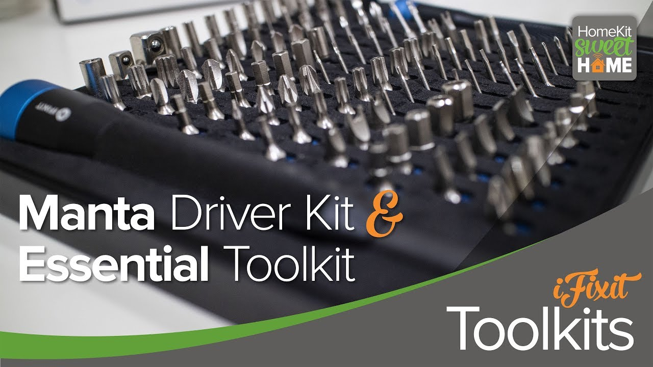 Ifixit Manta Driver Kit And Essential Toolkit Youtube