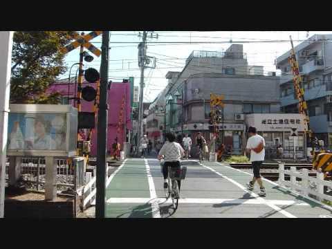 Japan travel東京の商店街 擬似旅行ビデオ The shopping center in Tokyo virtual trip
