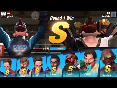 BOXING STAR STORY MODE / / COMPLETE ALL THE STAGE WITH S CLASS